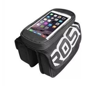 Alforjas Delanteras Porta Celular Gps Tactil Roswheel