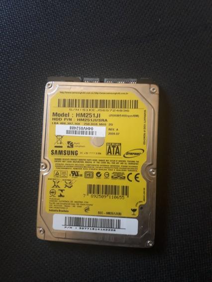 Hd De Notebook C/ Defeito Samsung - 250gb