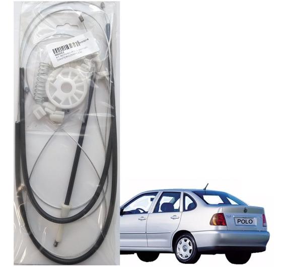 Kit Reparo Maquina Vidro Eletrico - Polo Antigo Dianteiro 4p