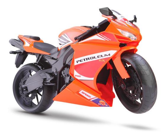 Moto Rodas Livres - Roma Racing Motorcycle - Laranja - Roma