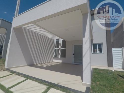 Imagem 1 de 11 de Casa Nova Condominio Park Real Em Indaiatuba Com 3 Dormitorios Sendo 1 Suite - Ca00051 - 67725150
