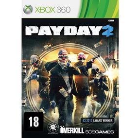 Payday 2 (mídia Física) - Xbox 360 (novo)