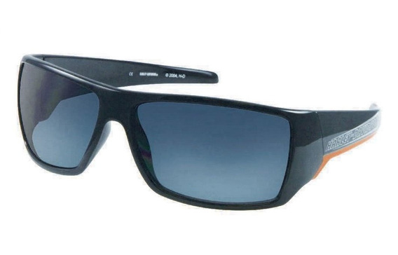 Óculos Harley Davidson Moto Masc Original Black Orange Strip