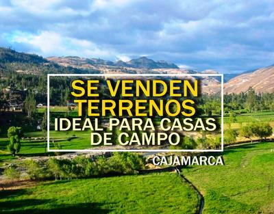 Terrenos En Venta A S/160 Xm2 (cajamarca)