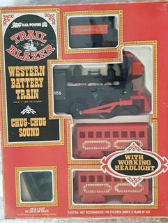 Tren Del Oeste Western Trail Blazer; Locomotora Vagones Riel