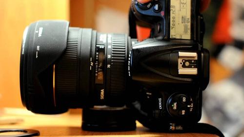 Imagem 1 de 5 de Nikon D300s Com Lente Sigma 24-70