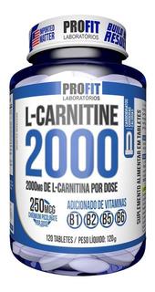 L Carnitine 2000 Com Chromium 120 Cáps - Profit - Lançamento