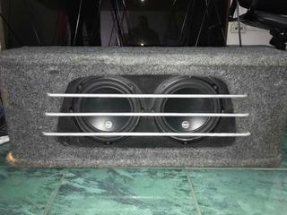 Bajos Jl Audio De 12 Y 2x10 Pulgadas Con Cajon
