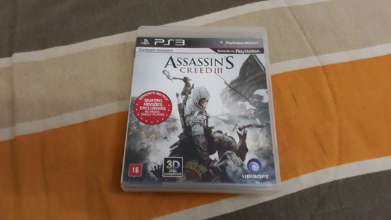 Assassins Creed 3 Para Ps3