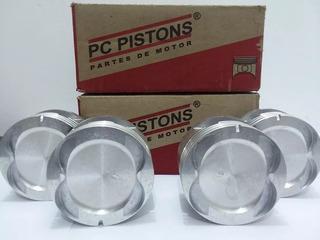 Pistones Optra Tapa Amarilla Desing Avance C/mueca 020 030