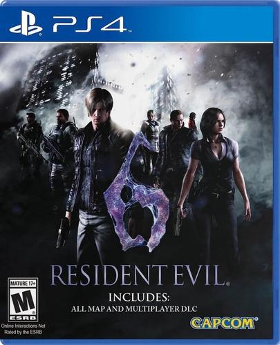 Imagen 1 de 7 de Resident Evil 6 Hd Remastered Ps4 Juego Fisico Nuevo Sellado