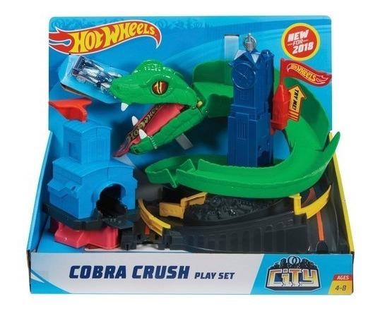 Pista Hot Wheels City Ataque De Cobras Fnb20 - Mattel