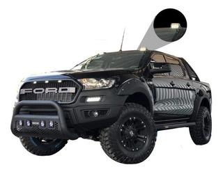 Moldura Techo Led Negro Mate Ford Ranger 2013-2017