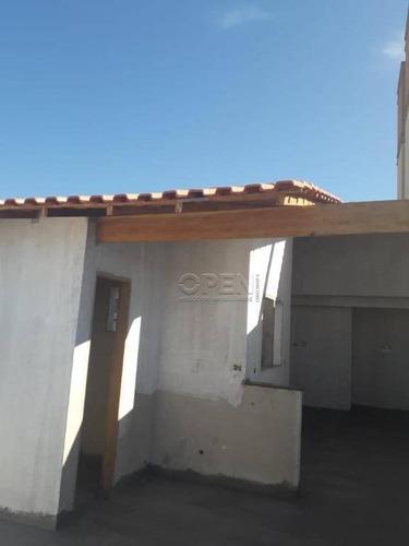 Cobertura Com 2 Dormitórios À Venda, 80 M² Por R$ 450.000,00 - Parque Novo Oratório - Santo André/sp - Co2454