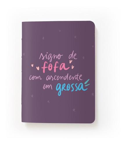 Caderninho Bullet Journal Ou Sketchbook - Fofa