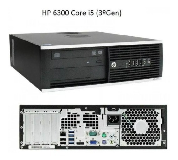 Computadora Hp 6300 Intel Core I5 3470 4gb 500gb Dvd Refurbi