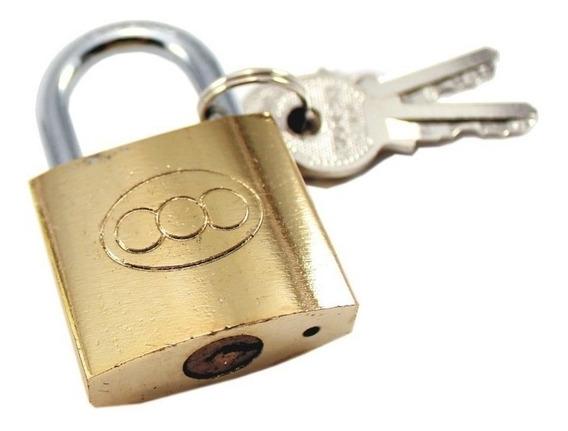 Candado Cofres - Lockers Bronceado 32mm - Subte Carabobo