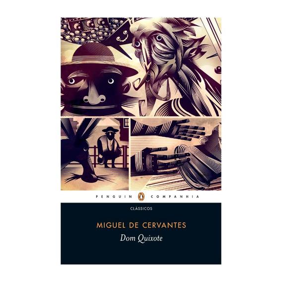 Livro Dom Quixote Volumes 1 E 2 - Miguel De Cervantes