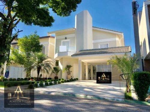 Maravilhosa Casa À Venda  Alphaville 04 - Santana De Parnaíba/sp  Área Construída 300 M² - Confira! - Ca1629