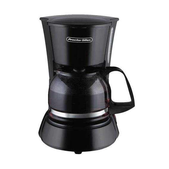 Cafetera 4 Tazas Negra Proctor Silex 48138