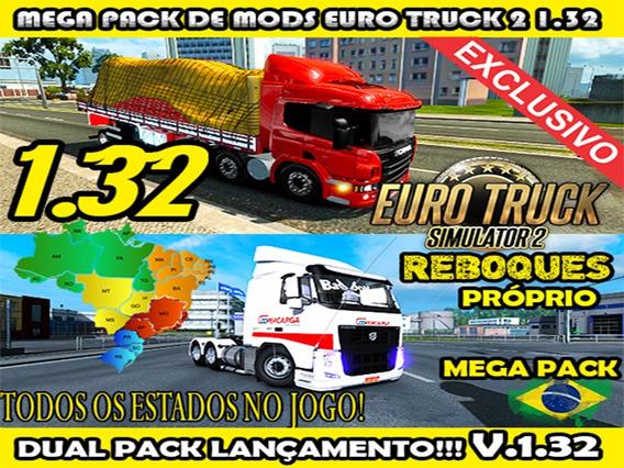 Pack De Mods Euro Truck Simulator 2 - Pc