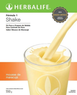 Shake Herbalife Mousse De Maracujá