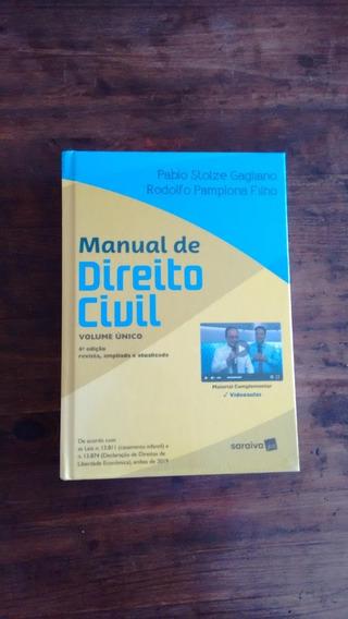 Manual De Direito Civil - Volume Único - 4 ª Edição - 2020