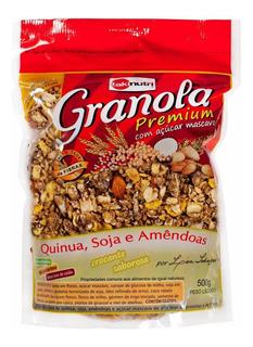 Kit 4 Granolas Premium Com Açúcar Mascavo - 500g - Takinutri