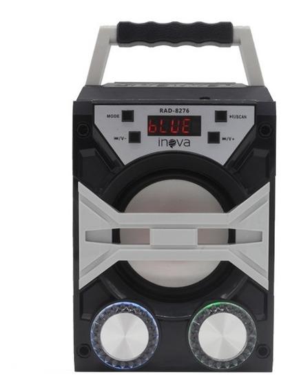 Caixa De Som Bluetooth Radio Fm Sd Digital Lançamento Top