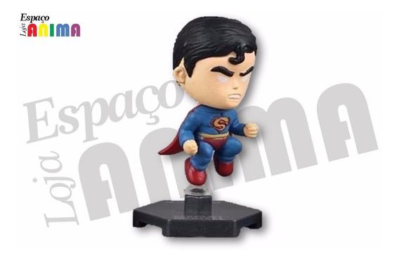 Boneco Chibi Superman Super Heróis Marvel (pronta Entrega)