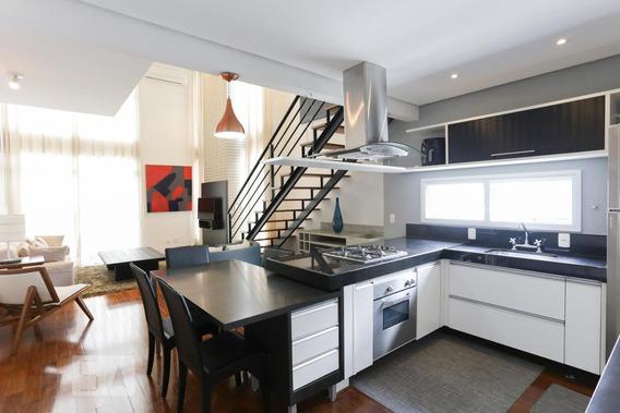Apartamento Para Aluguel - Jardim Paulista, 1 Quarto, 85 - 893018675