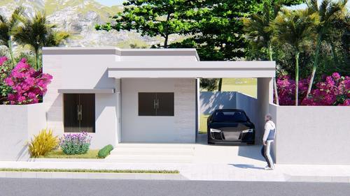 Imagem 1 de 4 de Planta De Casa 2 Quartos - Projeto Arquitetônico Completo