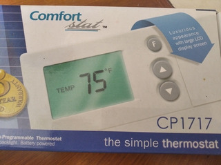 Termostato Confort Cp 1717