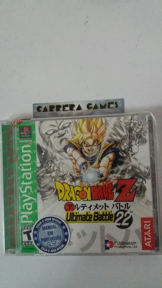 Dragon Ball Ultimate Battle 22 Ps1 Lacrado