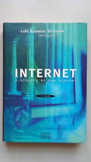 Livro Internet O Direito Na Era Virtual 2ª Edição