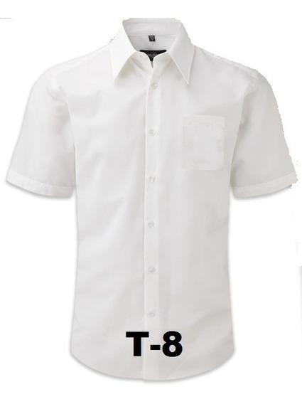 Camisa Blanca Escolar Talla 8 Y 10