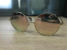 Oculos Miu Miu Round Rosa - Óculos De Sol no Mercado Livre Brasil 4da6c3db15