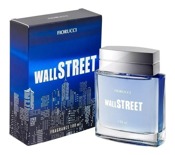 Fiorucci Deo Colônia Masculino Wall Street 100 Ml
