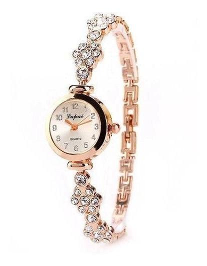 Relógio Feminino De Pulso + Pulseira De Brinde