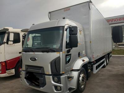 Ford Cargo 2429 2017 Automatico C/ Bau