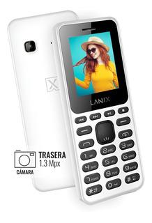 Celular Lanix U210 Camara 1.3mp Radio Fm Mp3 Libre Microsd