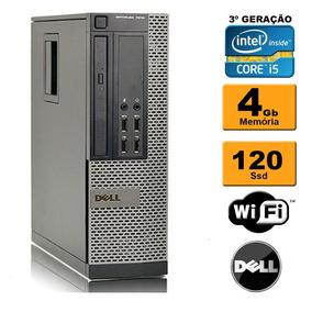Cpu Dell Mini Optiplex 7010 I5 3ª Ger 4gb Ssd 120gb Rw Wi-fi