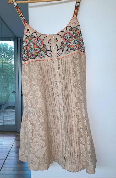 Vestido María Cher Tipo Mexicano Liquido !!