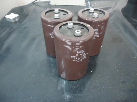 Capacitor Eletrolitico Epcos 4500uf X 400v - Usado