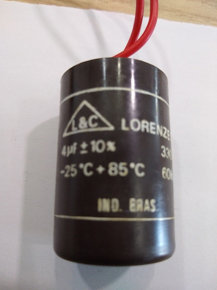Capacitor 4mf X 330vac Kit C/2pçs