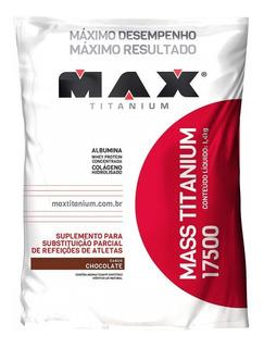 Hipercalórico Concentrado Titanium 17500 - 3kg Max Titanium