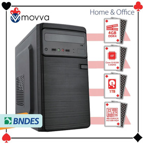 Pc Intel I3 8100 3.6ghz. Mem. 4gb Hd 1tb Hdmi/vga Fonte 200w