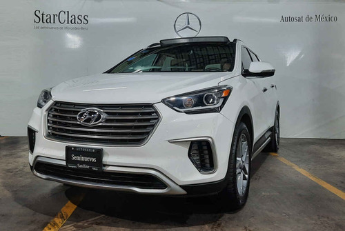 Imagen 1 de 15 de Hyundai Santa Fe 2019 5p Limited Tech V6/3.3/t Aut