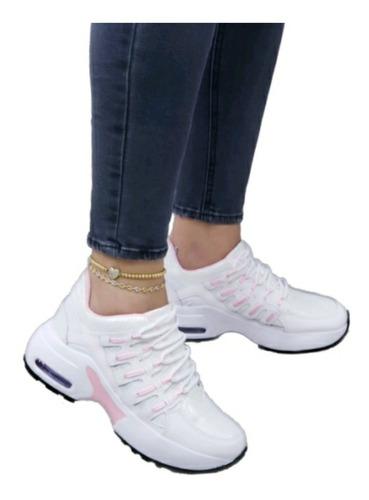 Lindos Tenis Tipo Bota Para Mujer Calzado 100% Nacional