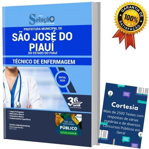 Apostila São José Do Piauí Pi - Técnico De Enfermagem